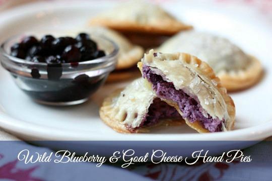 wild blueberry hand pie