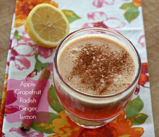 radish grapefruit apple juice