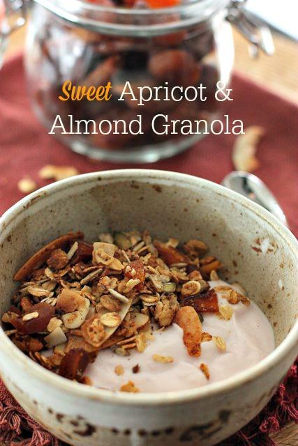 Apricot and Almond Granola
