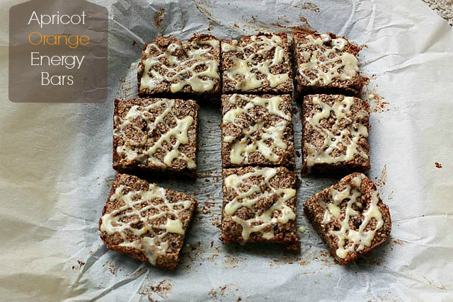 Apricot Orange Energy Bars - gluten free and delish!