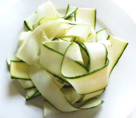 fettucine zucchini noodles