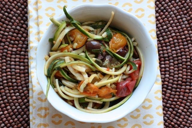 zucchini puttanesca
