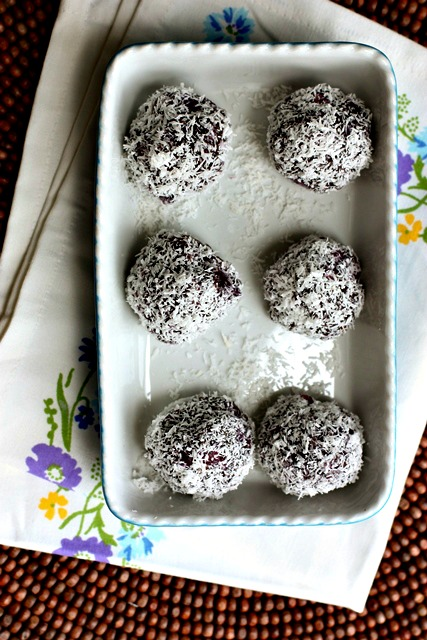 Raw Wild Blueberry Balls 3
