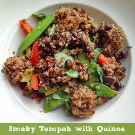 Smoky Tempeh with Quinoa
