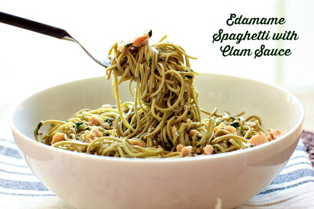 Easy, low carb, gluten free twist on an Italian classic! Spaghetti with clam sauce