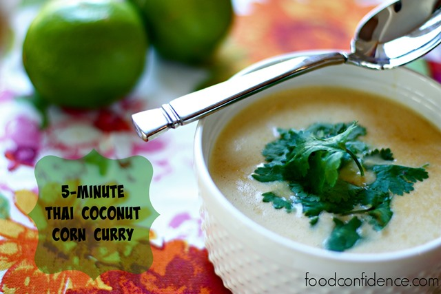 5 minute thai coconut curry