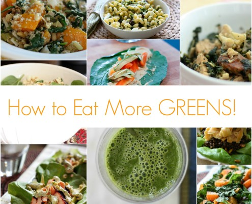 Fun ways to incorporate more greens in to your diet from @danielleomar
