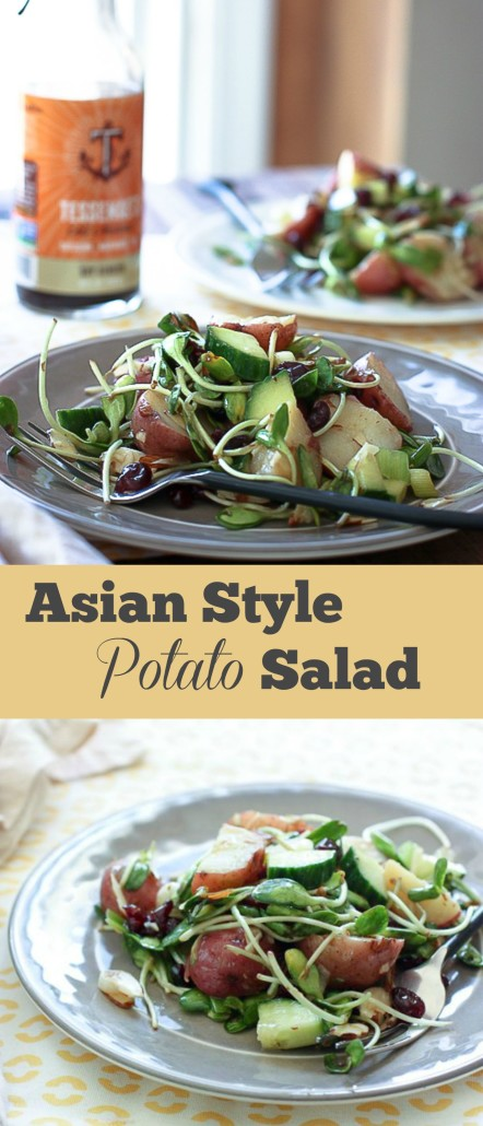 Asian Style Potato Salad