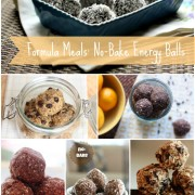 Formula Meal: no-bake energy balls are a favorite snack! healthy, gluten free and no added sugars! Learn how to make them yourself in a few easy steps! @danielleomar