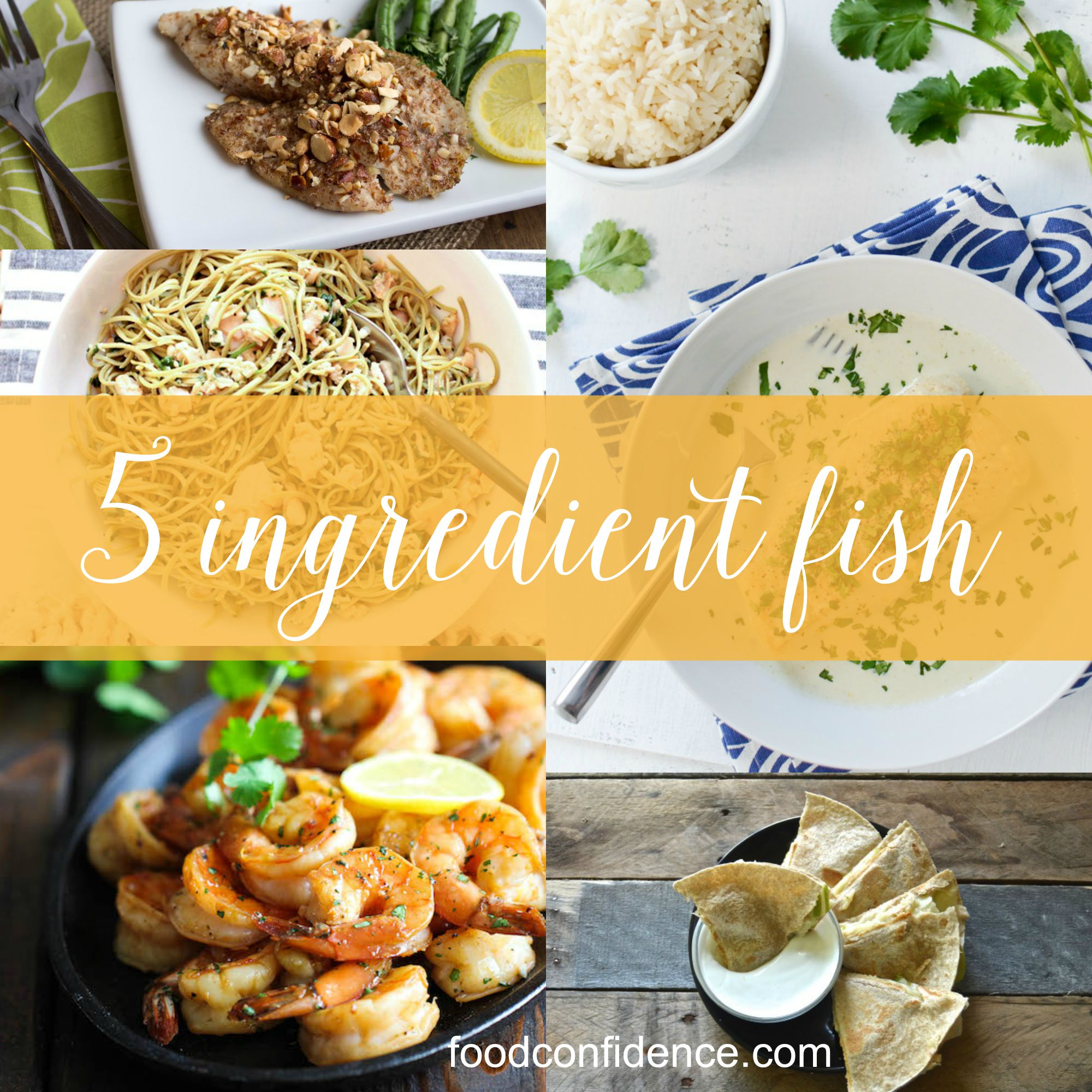 5 ingredient fish recipes round up 5 ingredient fish recipes using cod tilapia shrimp clams and tuna forumfinder Image collections