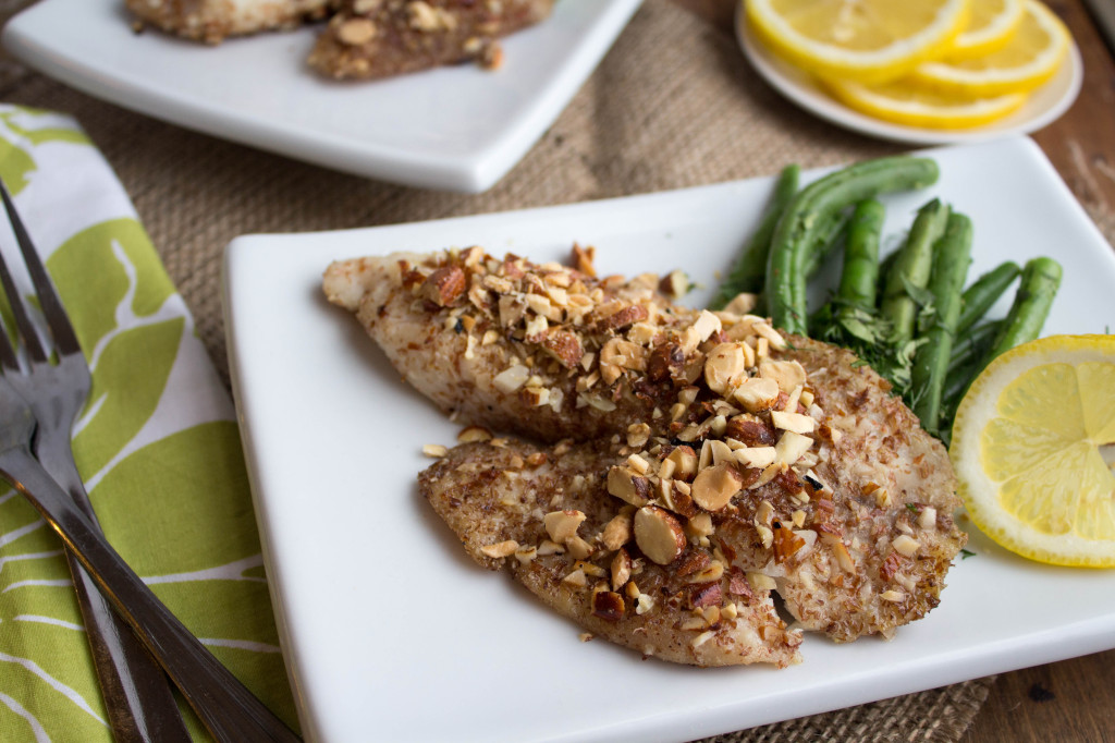 Almond Crusted Tilapia