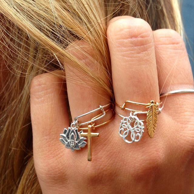 alex and ani expandable rings