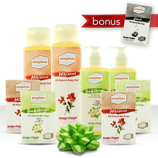 soapbox holiday soap bundle
