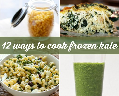 12 delicious and healthy ways to cook frozen kale for easy weeknight meals.