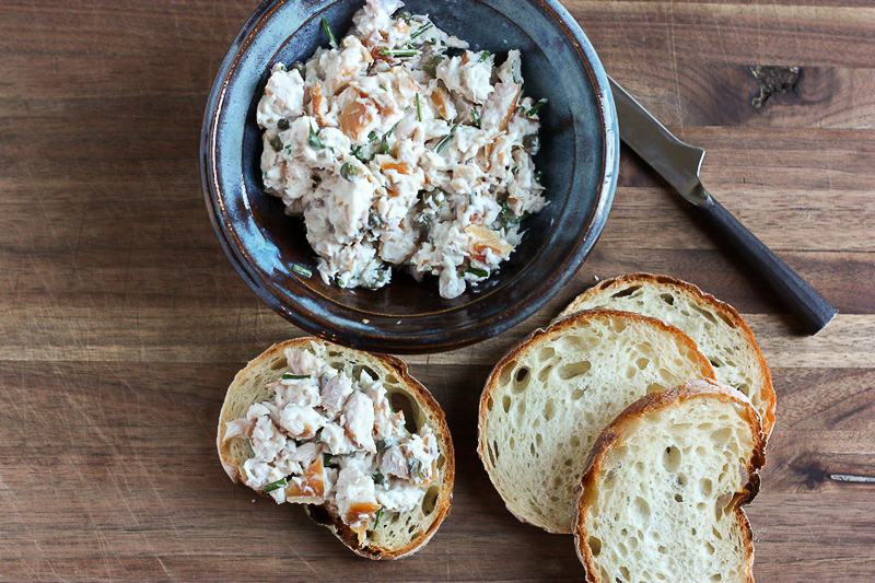 Smoky, creamy and tangy trout dip! The perfect appetizer to mix things up!
