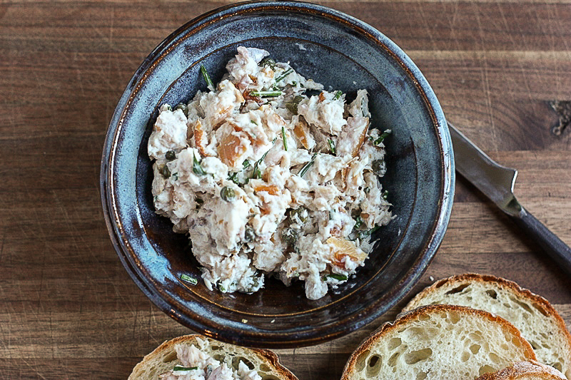 Smoked Trout Dip recipe for Superbowl fun!