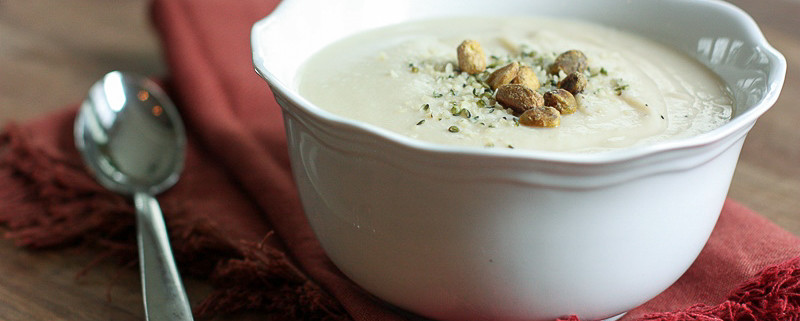 lemony cauliflower soup