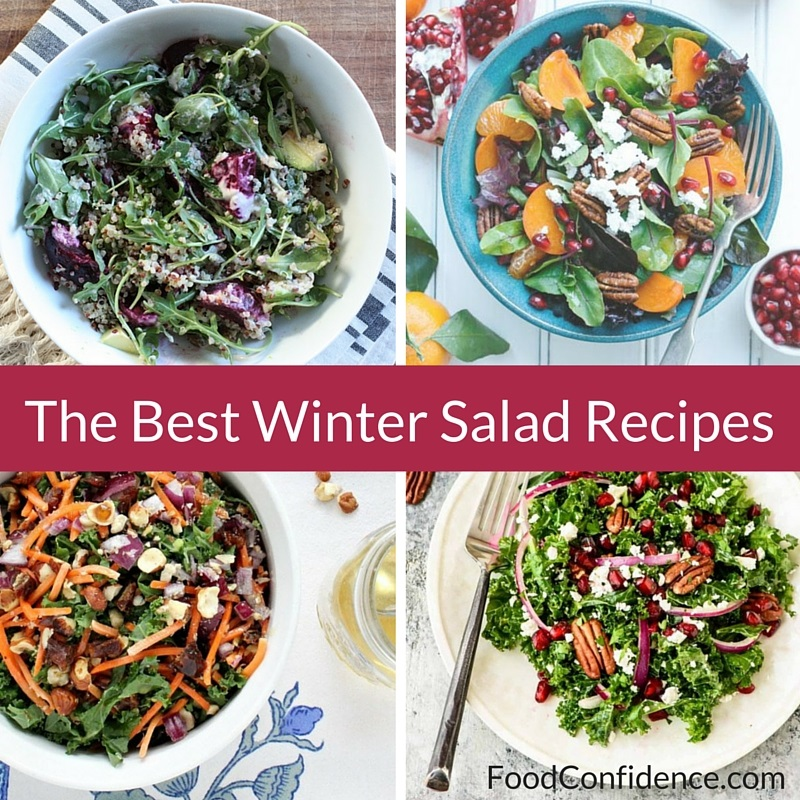 Healthy Winter Recipes: The Best Winter Salad Recipe Roundup
