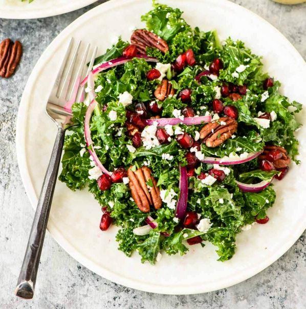 winter salad well plates