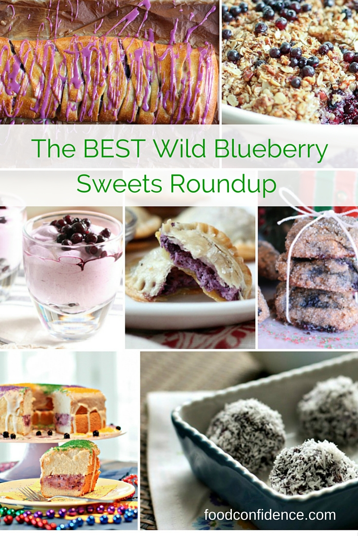 The BEST Wild Blueberry Sweets Roundup