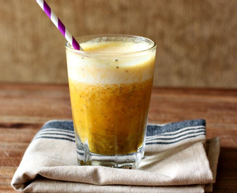 zesty pineapple turmeric chia fresca