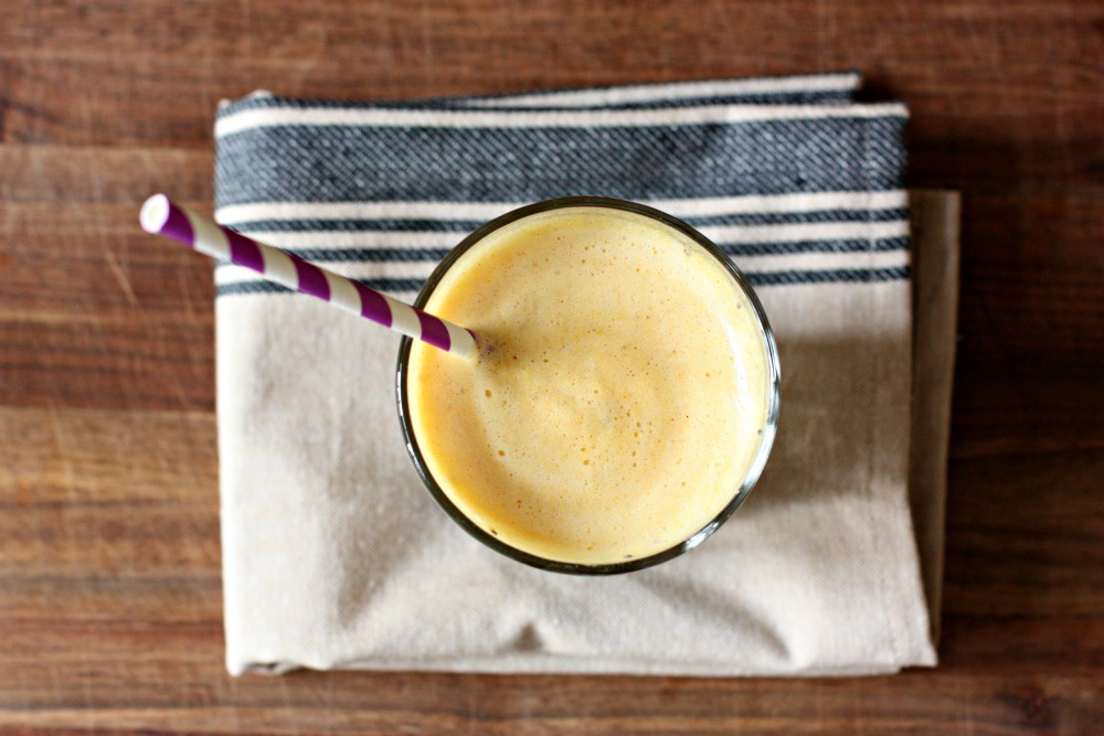 chia fresca with pineapple and turmeric