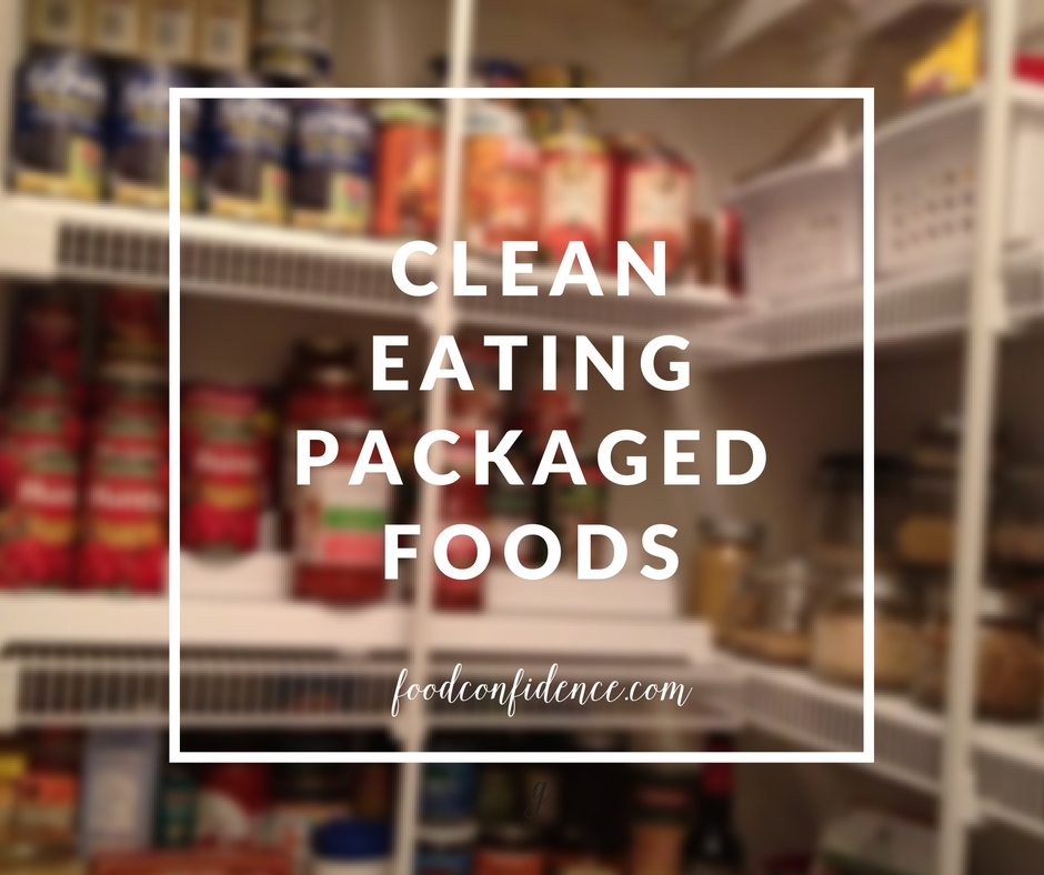 CLean eating packaged foods