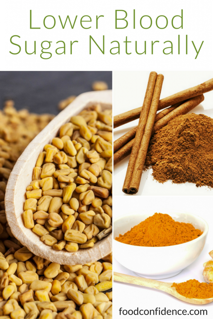 Lower Blood Sugar with Cinnamon, Fenugreek and Turmeric