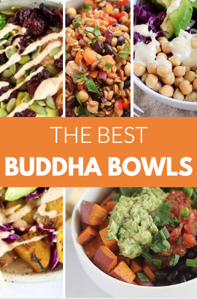 Buddha bowls are bright, colorful, satisfying, and incredibly nutritious. The best thing about a buddha bowl is that no recipe is required.  There's no wrong way to create your bowl!  Are you feeling less than confident about throwing one of these bowls together? No problem! Here are a few ideas for your inspiration!