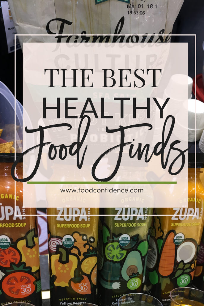 Great roundup of clean eating favorites from the FNCE Food & Nutrition Expo!