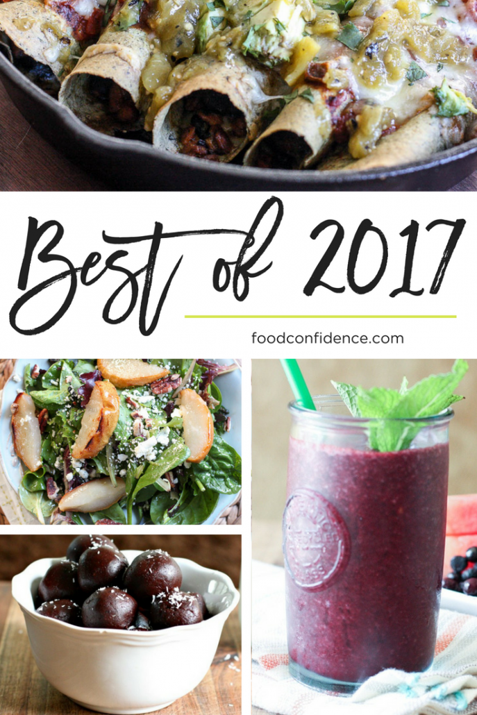 Best of 2017 on Food Confidence