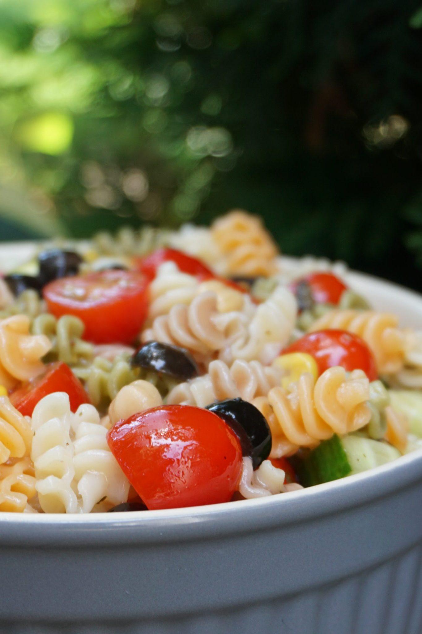 Summer Vegetable Pasta Salad