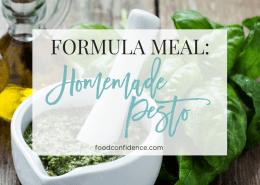 Formula Meal: Homemade Pesto