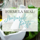 Formula Meal: Homemade Pesto