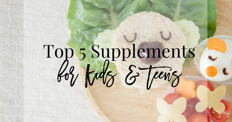 Supplements for Kids and Teens