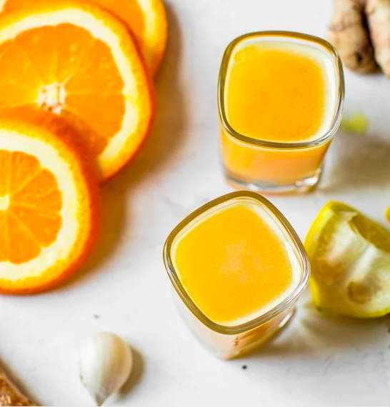 Danielle's Immune Boosting Shot with Ginger, Garlic and Turmeric