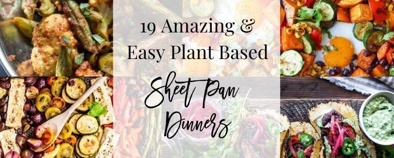 19 Sheet Pan Dinners