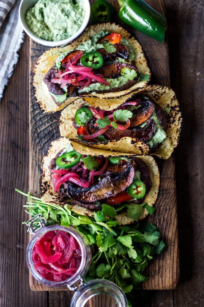 Sheet Pan Portabello Tacos