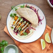 Roasted Cauliflower Tacos with Avocado Crema Gallery