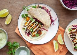 Roasted Cauliflower Tacos with Avocado Crema Gallery
