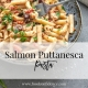 Salmon Puttanesca Blog Graphic